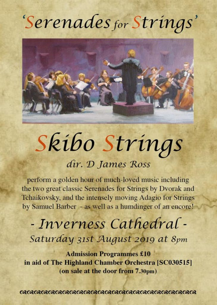 Serenades for Strings Music Event